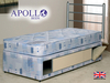 Apollo Plato 2'6 Small Single Coil Sprung Divan Bed