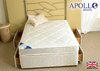 Apollo Marathon Damask 3' Single Coil Sprung Divan Bed