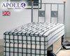 Apollo Ortho Acetate 3' Single Orthopaedic Coil Sprung Divan Bed