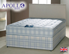 Apollo Hermes 3' Single Coil Sprung Divan Bed