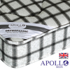 Apollo Ortho Acetate 20cm Thick 6' Super King Size Orthopaedic Coil Sprung Mattress