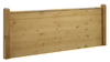 Duke 6' Super King Size Pine Rustic Wax Finish Wooden Headboard