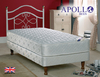 Apollo Cupid 3' Single Coil Sprung Divan Bed on Legs