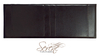 Carmela 6' Super King Size Black Faux Leather Headboard