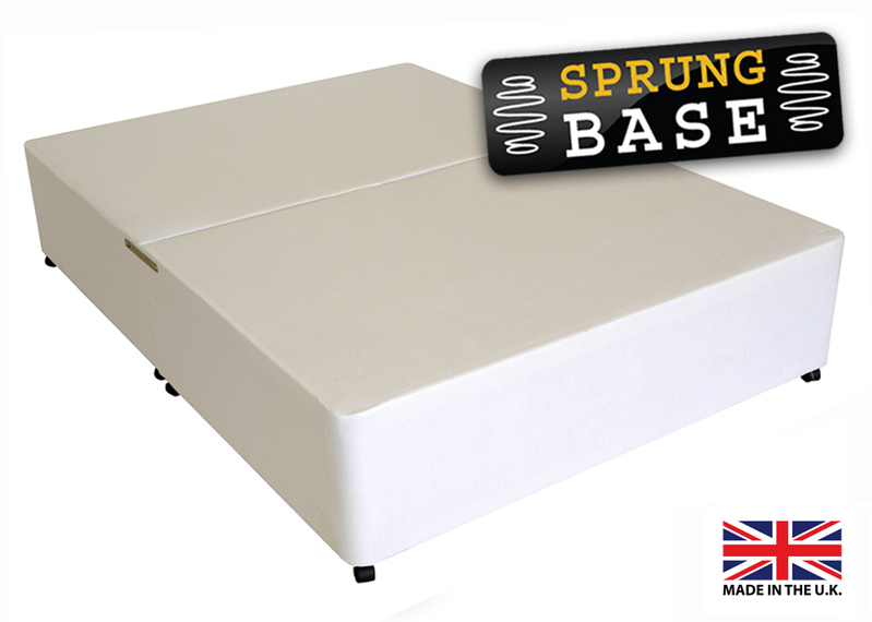 Add a bed base or mattress protector optional bed for Sprung double divan base only