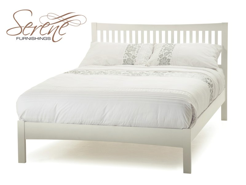 White Wooden Bed Frames 800 x 600