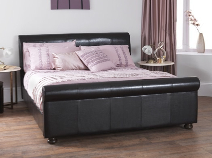 Finish Brown Size 5 King Size Bed Dimensions 1000mm