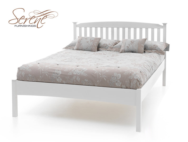 Eleanor Low Bed Frame White Opal in Foot 791 x 600