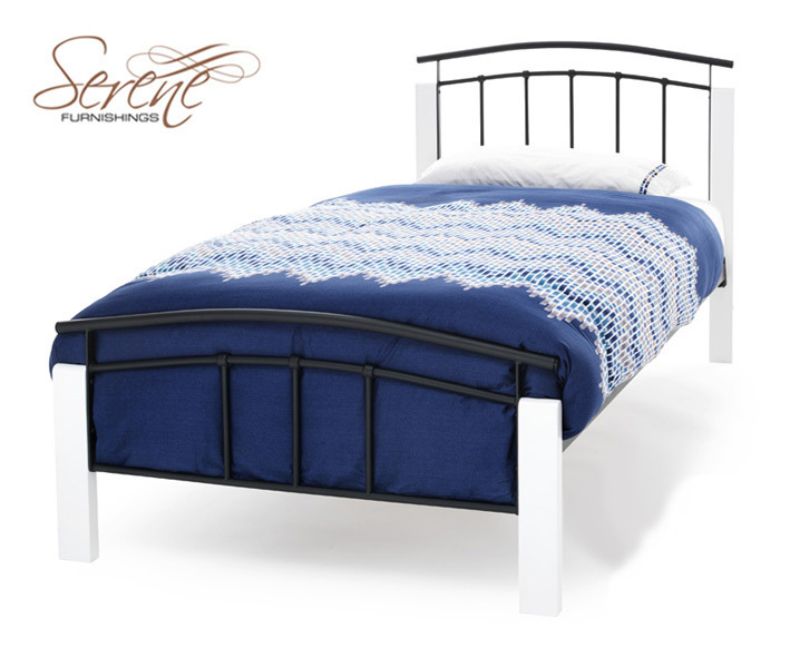 Black and White Bed Frame 709 x 582